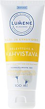 Parfémy, Parfumerie, kosmetika Zpevňující krém na ruce a nehty - Lumene Klassikko Glow & Strengthen Hand & Nail Cream