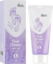 Parfémy, Parfumerie, kosmetika Uklidňující krém na nohy s levandulí - Ekel Foot Cream