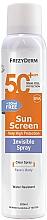 Parfémy, Parfumerie, kosmetika Opalovací krém na obličej a tělo - Frezyderm Sun Screen Invisible SPF50+ Spray