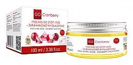 Parfémy, Parfumerie, kosmetika Peeling na nohy a chodidla - GoCranberry Cranberry Smoothing Foot & Heel Scrub