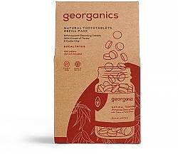 """Parfémy, Parfumerie, kosmetika Tablety pro čištění zubů """"Eukalyptus"""" - Georganics Natural Toothtablets Eucalyptus (náhradní náplň )"""