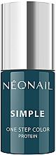 Parfémy, Parfumerie, kosmetika Gel lak na nehty - NeoNail Simple One Step Color Protein