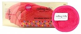 Parfémy, Parfumerie, kosmetika Mini odličovací ručník, růžový - Rolling Hills Mini Makeup Remover Pink