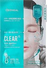 Parfémy, Parfumerie, kosmetika Biocelulózová maska s kyselinou hyaluronovou - Mediheal Capsule 100 Bio Seconderm Clear Alpha 2 Step Face Mask