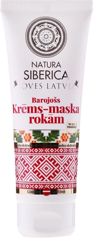 Výživná krém-maska na ruce - Natura Siberica Loves Latvia Hand Cream-Mask — foto N1
