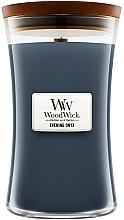 Parfémy, Parfumerie, kosmetika Vonná svíčka ve sklenici - WoodWick Hourglass Candle Evening Onyx