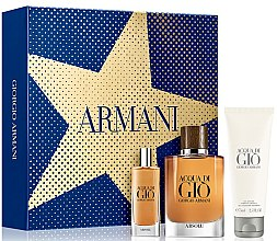 Parfémy, Parfumerie, kosmetika Giorgio Armani Acqua di Gio Absolu - Sada (edp/75ml + edp/15ml + sh/gel/75ml)