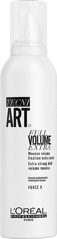 Silně fixační pěna na vlasy - L'Oreal Professionnel Tecni.art Full Volume Extra