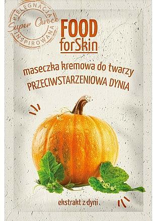 Plaťová maska - Marion Food for Skin Cream Mask Anti-age Pumpkin