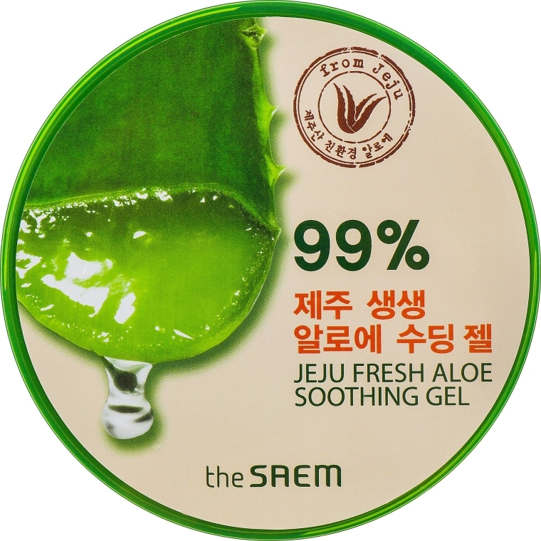 Univerzální gel s aloe - The Saem Jeju Fresh Aloe Soothing Gel 99%