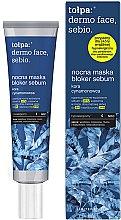 Parfémy, Parfumerie, kosmetika Noční maska na obličej - Tolpa Dermo Face Sebio Night Blocker Sebum Mask