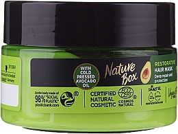 Parfémy, Parfumerie, kosmetika Intenzivní maska na vlasy - Nature Box Avocado Oil Maska