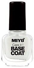 Parfémy, Parfumerie, kosmetika Báze pod lak - Miyo Care It Base Coat