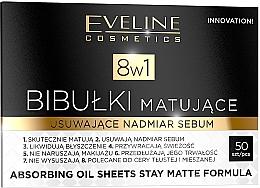 Parfémy, Parfumerie, kosmetika Matující ubrousky na obličej - Eveline Cosmetics 8in1