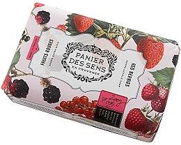 Parfémy, Parfumerie, kosmetika Mýdlo - Panier Des Sens Extra Gentle Natural Soap with Shea Butter Red Berries