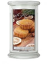 Parfémy, Parfumerie, kosmetika Aromatická svíčka ve skle - Kringle Candle Cardamom Gingerbread
