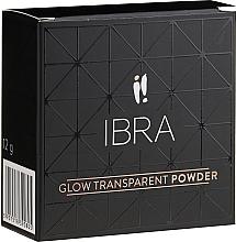 Parfémy, Parfumerie, kosmetika Zesvětlující sypký pudr na obličej - Ibra Glow Transparent Powder (3)