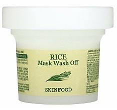 Parfémy, Parfumerie, kosmetika Čisticí maska s rýžovým extraktem - Skinfood Rice Mask Wash Off