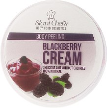 Parfémy, Parfumerie, kosmetika Scrub na tělo Blackberry Cream - Hristina Stani Chef'S Blackberry Cream Body Peeling