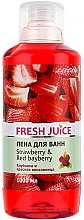 Parfémy, Parfumerie, kosmetika Koupelová pěna Jahoda a liči - Fresh Juice Strawberry and Red Bayberry