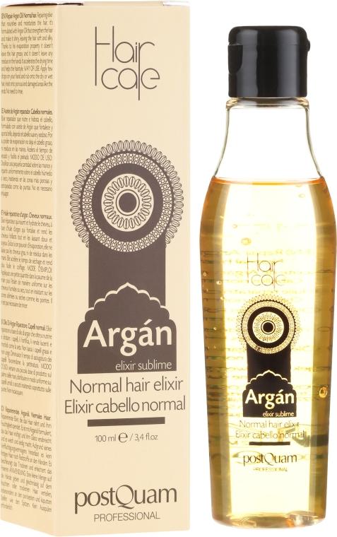 Elixír na vlasy s arganovým olejem - PostQuam Argan Sublime Hair Care Normal Hair Elixir — foto N1