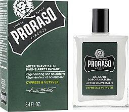 Parfémy, Parfumerie, kosmetika Balzám po holení - Proraso Cypress & Vetiver After Shave Balm
