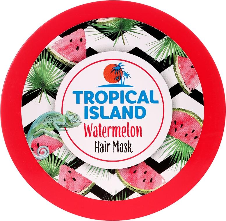 Maska na vlasy Vodní meloun - Marion Tropical Island Watermelon Hair Mask