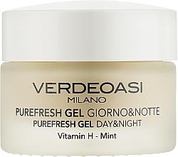 Parfémy, Parfumerie, kosmetika Čisticí a hydratační denní a noční pleťový gel - Verdeoasi Purefresh Gel Day&Night