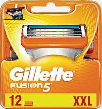 Parfémy, Parfumerie, kosmetika Náhradní kazety na holení 12 ks - Gillette Fusion
