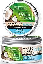 """Parfémy, Parfumerie, kosmetika Tělový olej """"Kokos"""" - Bielenda Vegan Friendly Coconut Body Butter"""