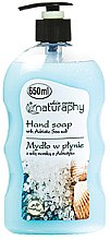 Parfémy, Parfumerie, kosmetika Tekuté mýdlo na ruce s mořskou solí - Bluxcosmetics Naturaphy Hand Soap