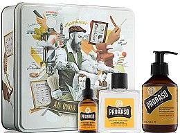 Parfémy, Parfumerie, kosmetika Sada - Proraso Wood & Spice Beard Kit (balm/100ml + shmp/200ml + oil/30ml)