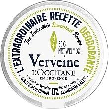 Parfémy, Parfumerie, kosmetika Krémový deodorant Verbena - L'Occitane Verbena Deodorant