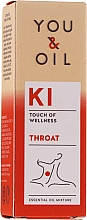 Parfémy, Parfumerie, kosmetika Směs esenciálních olejů - You & Oil KI-Throat Touch Of Welness Essential Oil