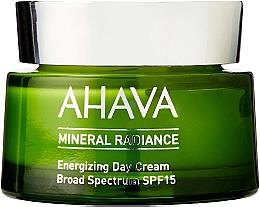 Parfémy, Parfumerie, kosmetika Minerální denní krém na obličej - Ahava Mineral Radiance Energizing Day Cream SPF 15