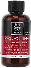 Parfémy, Parfumerie, kosmetika Šampon na vlasy se slunečnicí a medem - Apivita Propoline Shampoo For Colored Hair