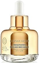 Parfémy, Parfumerie, kosmetika Posilující sérum na obličej a krk anti-age - Natura Siberica Caviar Gold