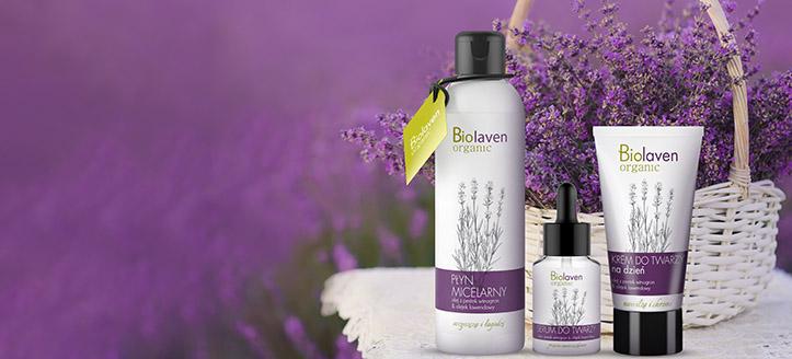 K nákupu produktů Biolaven v hodnotě nad 390 Kč získej micelární vodu jako dárek