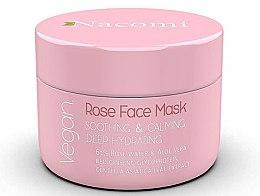 Parfémy, Parfumerie, kosmetika Růžová uklidňující obličejová maska - Nacomi Rose Face Mask