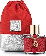 """Parfémy, Parfumerie, kosmetika Dárkové pouzdro na parfémy, červené """"Perfume Dress"""" - MakeUp"""