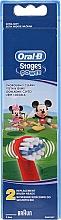 Parfémy, Parfumerie, kosmetika Dětské nástavce pro zubní kartáčky EB10, Mickey - Oral-B Stages Power Disney