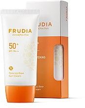 Parfémy, Parfumerie, kosmetika Opalovací krém-základ na obličej - Frudia Tone Up Base Sun Cream SPF50