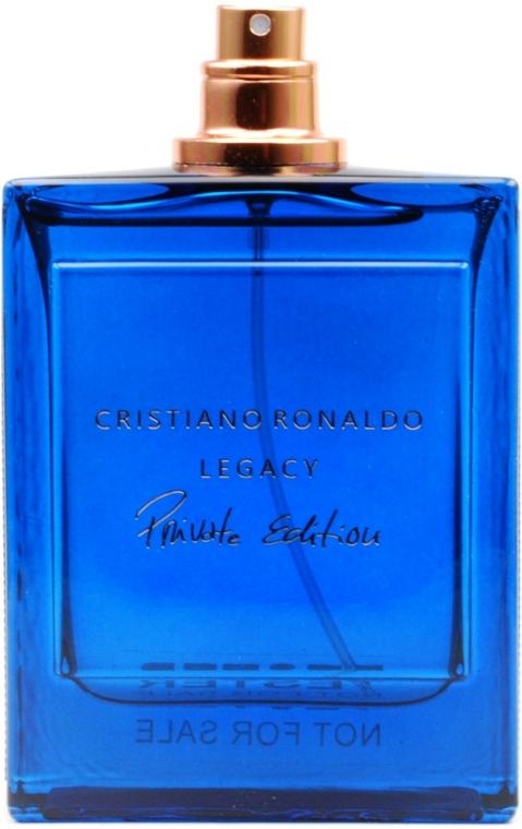 Cristiano Ronaldo Legacy Private Edition - Parfémovaná voda (tester bez víčka)