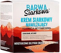 Parfémy, Parfumerie, kosmetika Sírový krém s hlubokou hydrataci - Barwa Sulphuric Cream Prolonged Moisturising