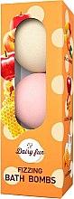 Parfémy, Parfumerie, kosmetika Šumivé koupelové míčky - Delia Dairy Fun Fizzing Bath Bombs