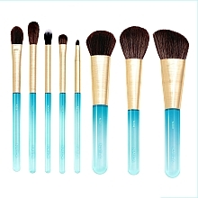 Parfémy, Parfumerie, kosmetika Sada štětců na make-up, 8 ks - Nabla Aquamarine Essential Brush Set