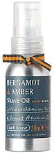 Parfémy, Parfumerie, kosmetika Bath House Bergamot & Amber - Olej na holení