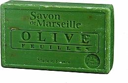 Parfémy, Parfumerie, kosmetika Přírodní mýdlo Listy olivy - Le Chatelard 1802 Soap Olive Leaves