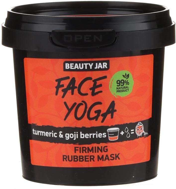 Maska na obličej s kurkumou bobulemi Goji - Beauty Jar Fase Yoga Firming Rubber Mask