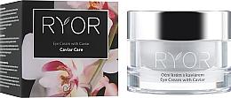 Parfémy, Parfumerie, kosmetika Oční krém s kaviárovým extraktem - Ryor Eye Cream With Caviar Extract